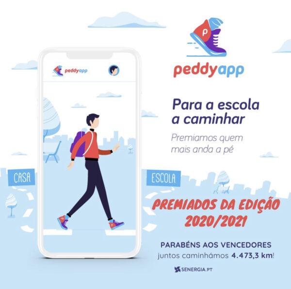 Competição PeddyAPP – Para a Escola Caminhar